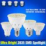 SMD2835 E14 E27 MR16 GU10 Luces Led Focos Bombillas Ahorro de Energía 220 4-8W