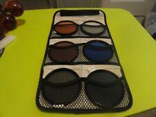 6 Tiffen 82mm Filters Set & Case