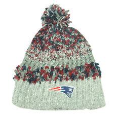 NFL New England Patriots Pom Pom Womens Ladies Knit Beanie Hat Toasty Toque