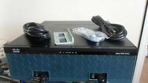 CISCO 3945E-V/K9 Integrated Services Router Bundle, PVDM3-64, UC License 2 x PS