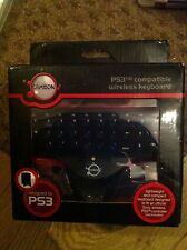 Boxed compatible PS3 wireless keyboard