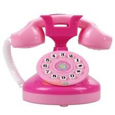Educational Emulational Pink Phone Pretend Play Toys Girls Toy Gifts #ORP