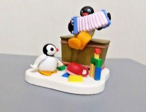 Pygos Pingu action figure series #03 - Pingu and  Accordion play rare set