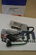 2011-2014 Chevrolet Cruze Rear Deck Lid LICENSE PLATE LAMPS w/Touch Pad new OEM