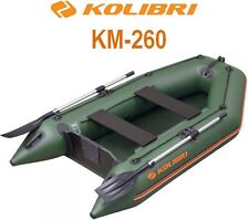 Kolibri KM-260 8.5ft inflatable powerboat rowing fishing hunting boat
