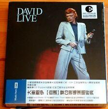 Rare David Bowie Live EMI 2 Disc double CD JAPAN OBI SEALED DIGIPACK