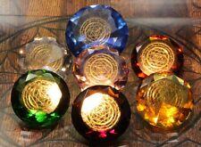 Tachyonen Diamant Merkaba gelb 45 Energie Heilige Geometrie Jophiel 3. Chakra