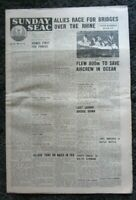 Sunday SEAC Vintage Newspaper-Sunday 4th March 1945