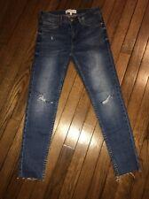 Mango Distress Skinny Jeans Size 2