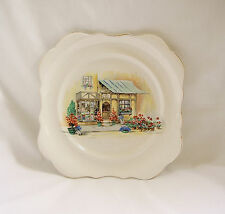 Vintage L (Lancaster) & Sons Ltd English Ware POSY SHOP Plate~Hanley, ENGLAND
