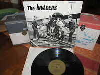 THE INVADERS Mega Rare/$1600 Book Lp ON THE RIGHT TRACK 1967 Justice Stunning!