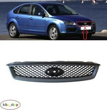 FOR FORD FOCUS MK2 2004 - 2008 NEW FRONT CENTER RADIATOR BLACK GRILL GRILLE