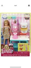 NEW Barbie Sisters Stacie Doll Breakfast Playset Dough Waffle MATTEL SEALED TOY