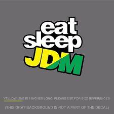 "Eat Sleep JDM Sticker Decal - JDM illest Wakaba DigiPrint 5"" (EatSleepJDMwakFC)"