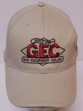 Rego Gec Gas Equipment Dallas Texas Oil Ngr Gas Adjustable Advertising Hat Cap