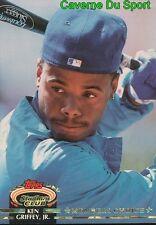 603  KEN GRIFFEY JR. MC  SEATTLE MARINERS TOPPS BASEBALL CARD STADIUM CLUB 1992