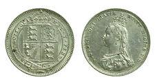 pcc1359_20) Great Britain Queen Victoria 1887  Shilling