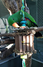 Bird Toys, large parrot toy, foraging shredding toy, Chinese House bird toy