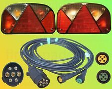 Aspöck Multipoint 2 Anhängerbeleuchtung - 7polig 3,5m Kabelbaum - Leuchten Set