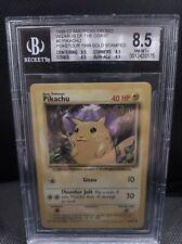 Pikachu Poketour Promo 1999 Pokemon | 1999  Base Set - BGS 8 8.5 9 9.5 10 PSA