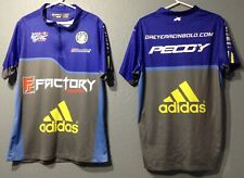 Two Men's Dreyer & Reinbold Racing Pit Crew Shirts Size M Adidas BFGoodrich Indy