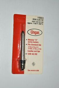 Ungar #4036-S Iron Clad Soldering Iron Tip 45 W, 120 V AC/DC 1100 Degrees F NOS