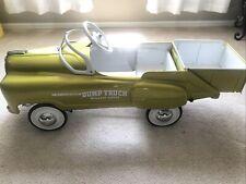 VINTAGE**RARE** 1950's MURRAY SAD FACE DUMP TRUCK PEDAL CAR