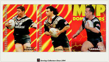 1997 Dynamic Rugby League Fatty Fun Pack Base Team set-WEST MAGPIES(8)