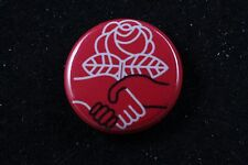 "DSA Democratic Socialists of America Social Democracy 1"" Made in USA Badge Pin"