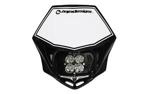 Baja Designs 557001WT Squadron Sports M/C Motorcycle Aluminum LED Race Light