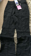 Marks /& Spencer Girls Black School trousers Age 16