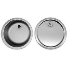 Rieber Bad & Küche Spülen aus Edelstahl | eBay | {Spülbecken rund edelstahl matt 8}