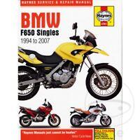 BMW F 650 650 GS Dakar 2000 Haynes Service Repair Manual 4761