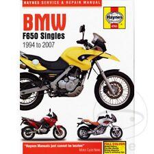 BMW F 650 650 GS Dakar 2000 Haynes Manual de reparación de servicio 4761