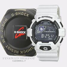 Authentic Casio G-Shock Men'sWhite Solar Power Digital Watch GR8900A-7