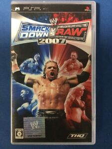 PSP WWE 2007 SmackDown vs Raw (Japan Import) -1844-312-011