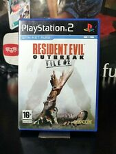 RESIDENT EVIL outbreak file 2 PS2 UK / ITA << COMPLETO >>
