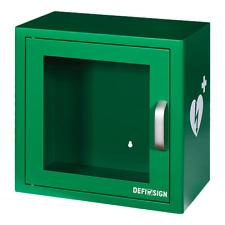 AED Wandkasten DefiSign Kasten mit Alarm Metallkasten Defibrillator Universell