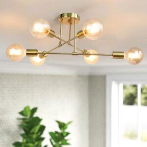 Hanging Lamp Nordic 85-265 V Ceiling Sputnik Post modern Chandelier