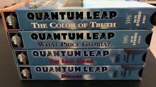Quantum Leap Vhs Lot: The Color of Truth/What Price Gloria?/The Leap Home/Dreams