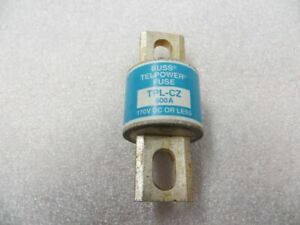 Buss Telpower TPL-CZ Fuse Used 600 Amp.  170 Volt DC or Less U.S.A. T393