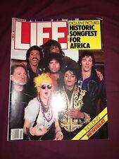 LIFE MAGAZINE We Are The World Issue April 1985 Michael Jackson Cyndi Lauper