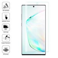 Vitre De Protection Écran Film Verre Trempe Incurvé Samsung Galaxy Note10+ Plus