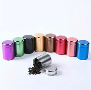Smell Proof Metal Herb Jar - Airtight Storage Container - Highest Quality