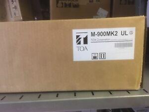 TOA Electronics M-900MK2/ 8-Channel Modular Mixer/Preamplifier (Color: Black)