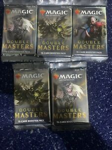 Double Masters Booster Packs X5 Mtg Sealed