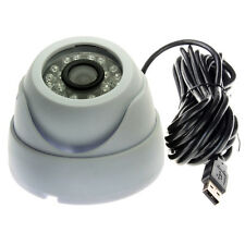 USB Surveillance CCTV IR Infrared LED Day/Night Dome Security Camera 3.6mm Lens
