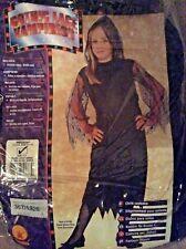 BNWT Girls Black LACE VAMPIRESS Halloween 🎃 Fancy Dress Costume Age 5-7 yrs