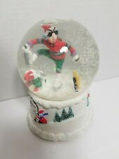 J Wagner Maxine Whiney Christmas Snowglobe Music Box.