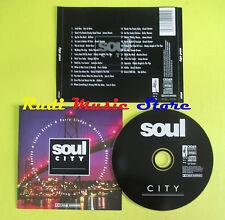 CD SOUL CITY compilation SAM E DAVE DRIFTERS JAMES BROWN (C52) no mc lp dvd vhs